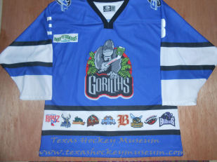 Marcus Reszka - Marcus Reszka Jersey - Texas Hockey - Amarillo Hockey - Amarillo Hockey - Amarillo Gorillas Hockey - Amarillo Rattler Hockey - CHL Hockey - Central Hockey League- WPHL Hockey - Western Professional Hockey League