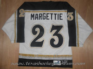 Don Margettie - Don Margettie Jersey - Texas Hockey - Odessa Jackalopes Hockey - Odessa Hockey - WPHL Hockey - Western Proffessional Holckey League- CHL Hockey - Central Hockey League