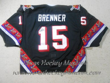 Matt Brenner - Matt Brenner Jersey - Texas Hockey - Odessa Jackalopes Hockey - Odessa Hockey - WPHL Hockey - Western Proffessional Holckey League- CHL Hockey - Central Hockey League