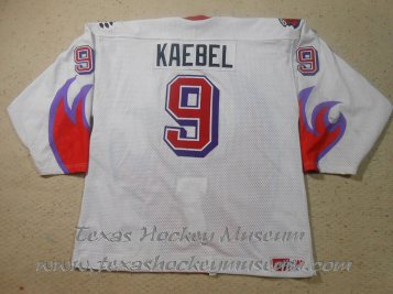 Karson Kaebel - Karson Kaebel Jersey - Texas Hockey - Odessa Jackalopes Hockey - Odessa Hockey - WPHL Hockey - Western Proffessional Holckey League- CHL Hockey - Central Hockey League
