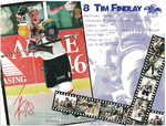 1997-1998 WPHL Austin Ice Bats Calendar Tim Findlay