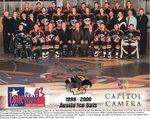 1999-2000 WPHL Austin Ice Bats Team Photo