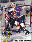 1998-1999 WPHL Austin Ice Bats Mike Jackson Game Program Page 4