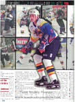 1998-1999 WPHL Austin Ice Bats Ryan Anderson Game Program Page 265